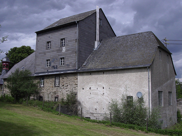 main existing building